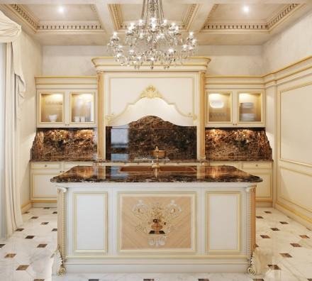 Ebanart soluzioni d 39 arredo di lusso - Cucina barocco veneziano ...
